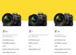 دوربین های بدون آیینه نیکون Nikon mirrorless Cameras/FX